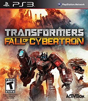 Transformers Fall of Cybertron PS3 от магазина Kiberzona72
