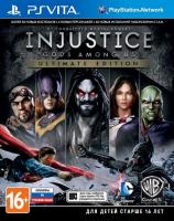 Injustice: Gods Among Us Ultimate Edition PS VITA рус.суб. б\у от магазина Kiberzona72