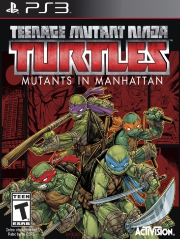 Teenage Mutant Ninja Turtles: Mutants in Manhattan PS3 [английская версия] от магазина Kiberzona72
