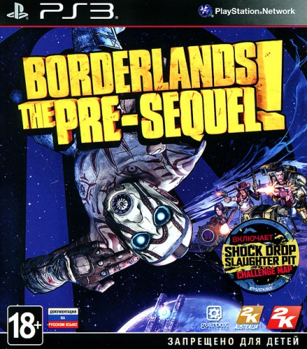 Borderlands: The Pre-Sequel! PS3 (английская версия) от магазина Kiberzona72