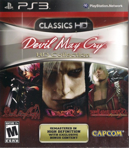 Devil May Cry HD Collection PS3 анг. б\у от магазина Kiberzona72