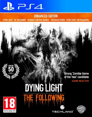Dying Light: The Following - Enhanced Edition PS4 рус. б\у от магазина Kiberzona72
