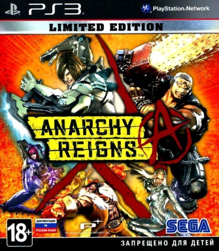 Anarchy Reigns. Limited Edition PS3 (английская версия) от магазина Kiberzona72