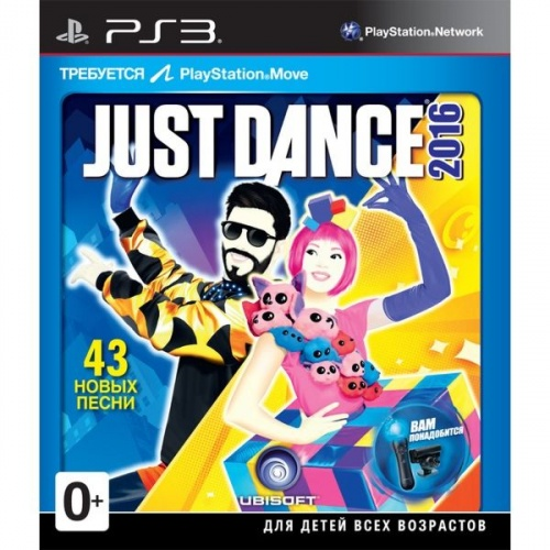 Just Dance 2016 PS3 анг. б\у от магазина Kiberzona72