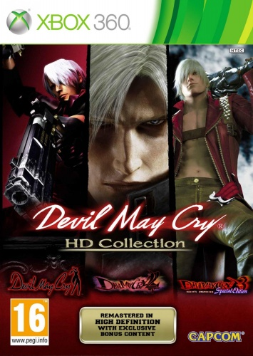 Devil May Cry HD Collection Xbox 360 анг. б\у от магазина Kiberzona72