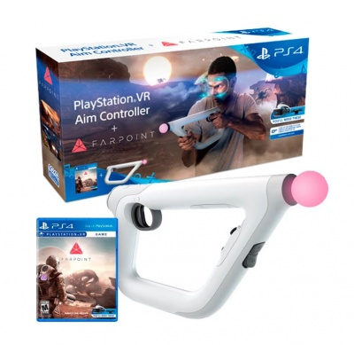 Aim Controller (PS4) + Farpoint PS4 от магазина Kiberzona72