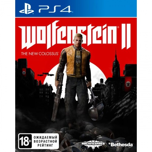 Wolfenstein II: The New Colossus PS4 б\у рус. от магазина Kiberzona72