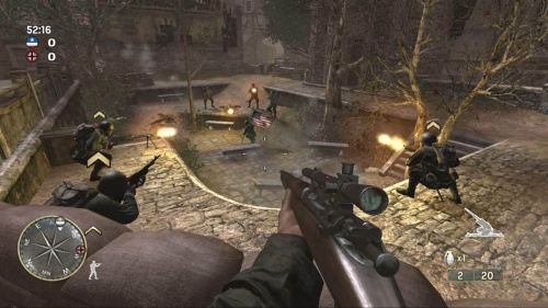 Call of Duty 3 PS3 анг. б\у от магазина Kiberzona72