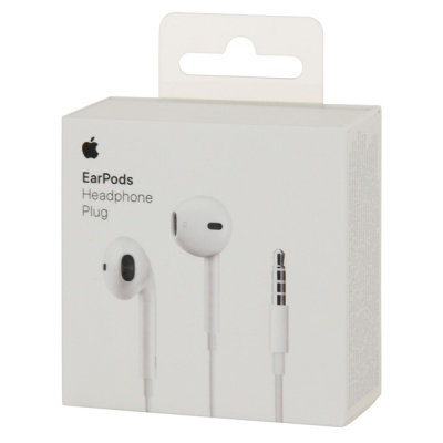 Наушники для Apple Apple EarPods with 3.5mm Headphone Plug (MNHF2ZM/A) от магазина Kiberzona72
