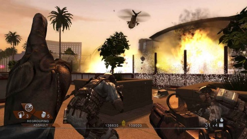 Tom Clancy's RainbowSix Vegas 2 PS3 английская версия от магазина Kiberzona72
