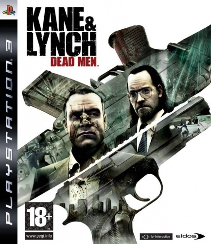 Kane&Lynch: Dead Men PS3 английская версия от магазина Kiberzona72