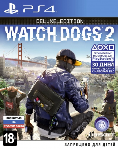 Watch Dogs 2. Deluxe Edition PS4 рус. б\у от магазина Kiberzona72