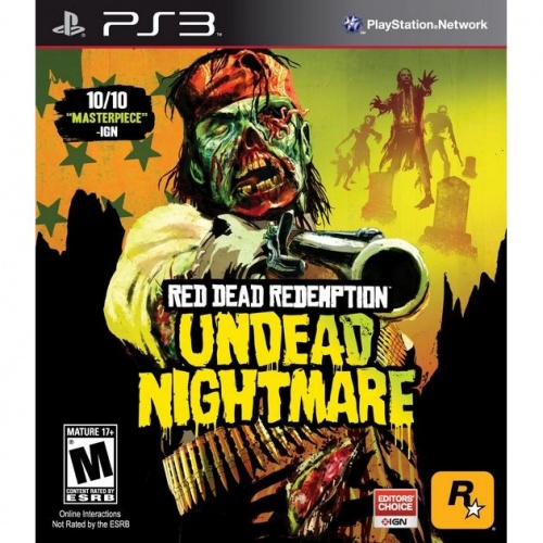 Red Dead Redemption Undead Nightmare PS3 анг. б\у от магазина Kiberzona72