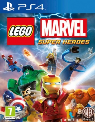 LEGO Marvel Super Heroes PS4 анг. от магазина Kiberzona72