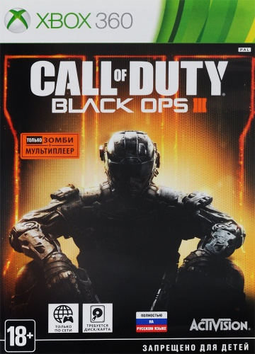 Call of Duty Black Ops 3 (III) Xbox 360 русс. б\у от магазина Kiberzona72