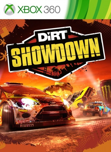 DiRT Showdown Xbox 360 анг. б\у от магазина Kiberzona72