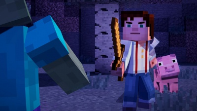 Minecraft: Story Mode - The Complete Adventure PS4 рус.суб. б\у от магазина Kiberzona72