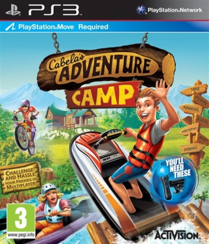 Cabela's Adventure Camp PS3 английская версия от магазина Kiberzona72