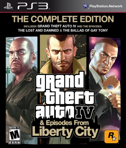 Grand Theft Auto IV ( GTA 4 ) : Complete Edition PS3 анг. б\у от магазина Kiberzona72