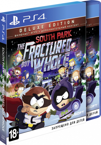 South Park: The Fractured But Whole Deluxe PS4 рус.суб. б\у от магазина Kiberzona72