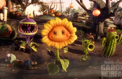 Plants vs. Zombies Garden Warfare PS4 анг. б/у от магазина Kiberzona72