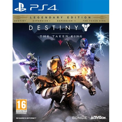 Destiny: The Taken King Legendary Edition PS4 анг. б\у от магазина Kiberzona72