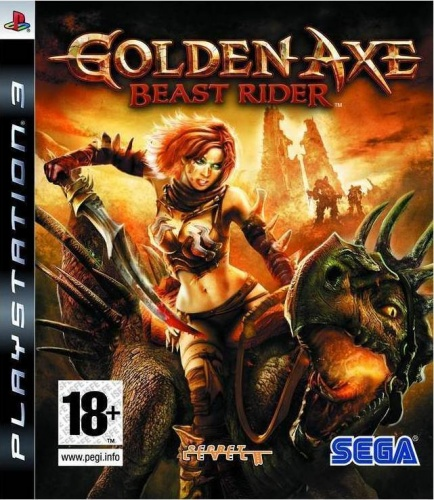 Golden Axe: Beast Rider PS3 английская версия от магазина Kiberzona72